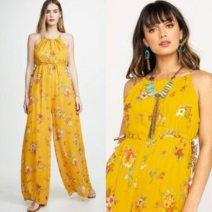 Free People $148 Georgia Floral Jumpsuit NWT XS